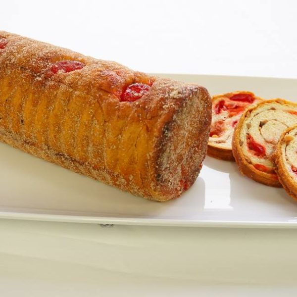 Cherry Nut Cylinder Roll