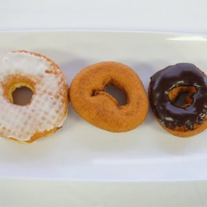 Round Donuts Close Up