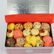 Butter Cookie Variety Tin Box