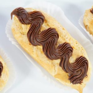 Eclairs Close Up